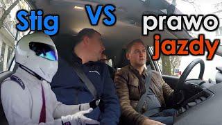 Stig z Top Gear próbuje zdać egzamin na prawo jazdy w Polsce, oblał!