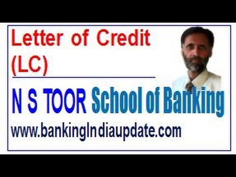 LC-Letter of Credit
