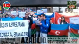 """Ankaradan """"Əsgər ölümlərinə son"""" aksiyasına dəstək"""