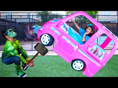 Jannie Turns into Masked Superheroes Kids to Help Friends | Compilation Video for Children