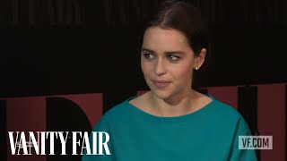 Nonton Emilia Clarke On    Dom Hemingway    At Tiff 2013   Vanity Fair Film Subtitle Indonesia Streaming Movie Download