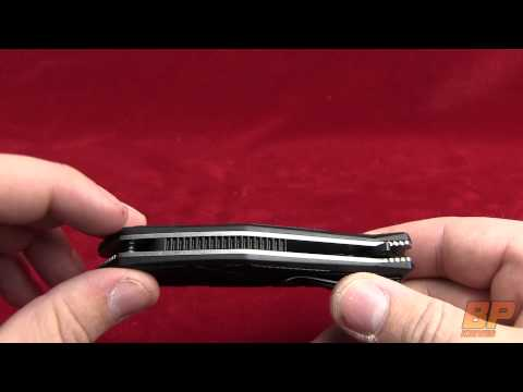 Kershaw Brawler Assisted Opening Knife - Black Plain