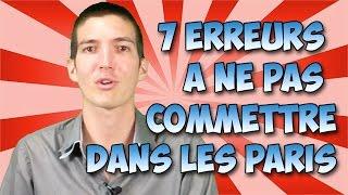 7 Erreurs à Ne Pas Commettre Dans Les Paris Sportifs Par Maxence Rigottier