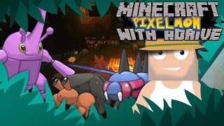 I'M A BUG GYM LEADER!! Minecraft Pixelmon Live with aDrive! by aDrive