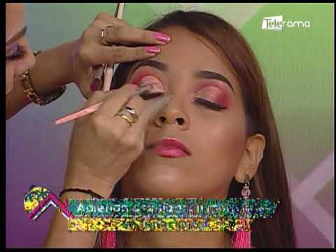 Aprenda a realizar un maquillaje en tonos coral