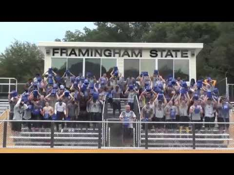 Framingham State Football Ice Bucket Challenge