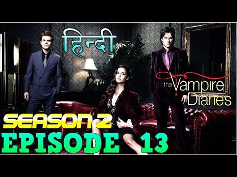 The Vampire Diaries Season 2 Episode 13  Explained Hindi  वैम्पायर डायरीज स्टोरी  CAROLINE IN DANGER