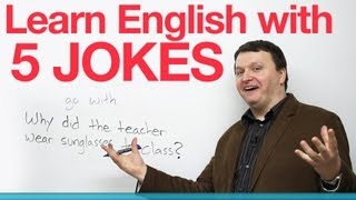 Learn English with 5 Jokes