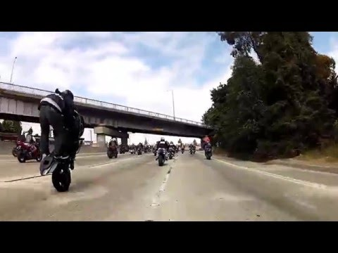 STUNTS - West Coast Connection Annual Ride 2012 Oakland California To San Francisco California and back! Music: Song 1: No Limit - Wiz Khalifa feat. Rock City & Ariez...
