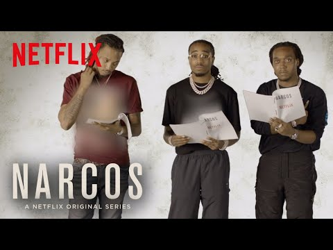 Narcos: Mexico | Migos Read Scripts From The New Episodes | Netflix