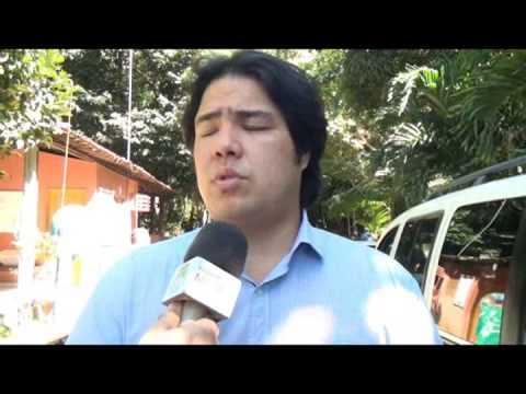Prefeito Rui Palmeira visita Parque Municipal