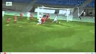 Gibraltar finished 0-0 with Slovakia on their very first official match. Highlights form 0:51!