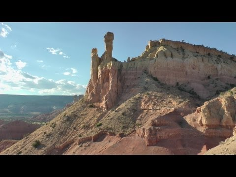 Abiquiu - Ghost Ranch and Plaza Blanca, New Mexico, USA in HD
