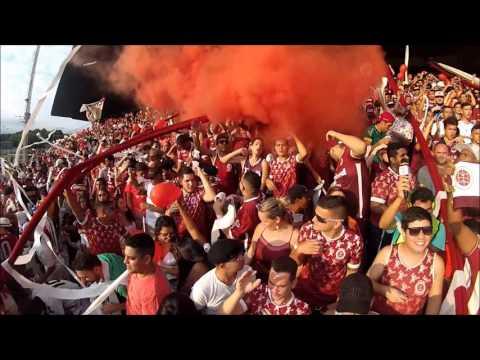 GRENAMOR - Entrada do time contra o ES (1º jogo da final) - Grenamor - Desportiva Ferroviária - Brasil - América del Sur