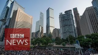 Hong Kong Protests: What Do Bankers Think?  BBC News