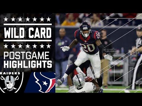Raiders vs. Texans | NFL Wild Card Game Highlights (видео)