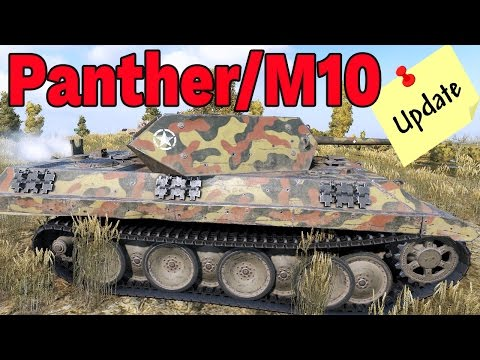 Panther/M10 PO BUFFIE - World of Tanks