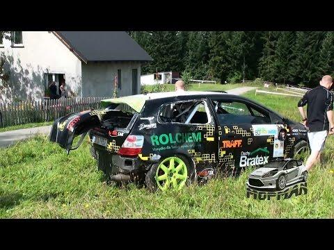 60 Rajd Wisły 2014 - DZWON + wyciąganie Lesiak/Tłok Honda Civic MopMan VideoRally