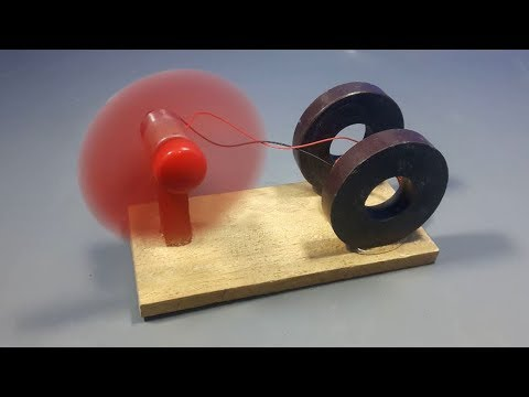 free energy generator device with magnet & dc motor _ science experiment at home - Thời lượng: 10:51.