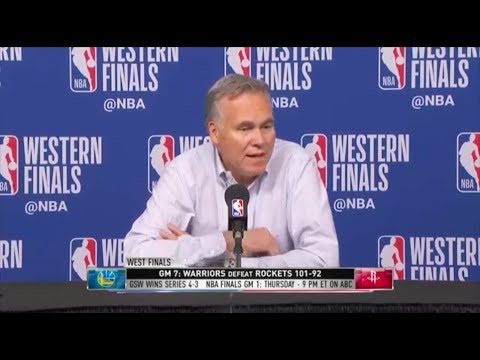 Mike D'Antoni | Game 7 Press Conference | Western Conference Finals
