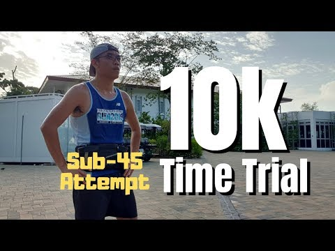 10k Time Trial - Sub 45 Attempt