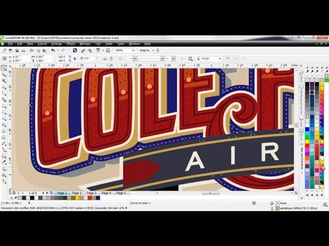 CorelDRAW® Tutorial | Creating Custom Lettering Effects