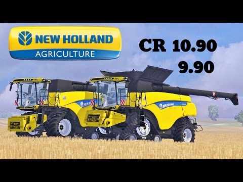 New Holland CR Combines v2.0 Washable