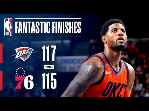 Video: The Thunder And 76ers Engage In A Fantastic Finish | January 19, 2019