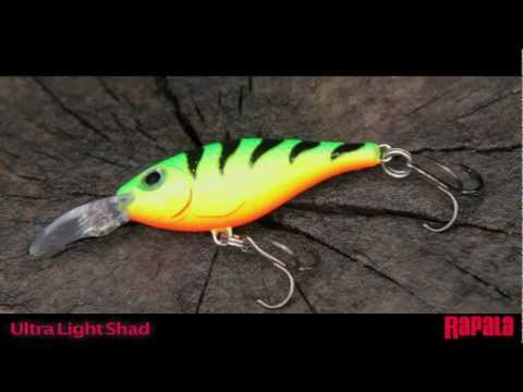 Rapala Ultra Light Shad 4 (ULS-4) videó