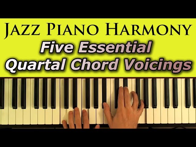 Jazz Piano Harmony Chord Voicings | Free MP3 Download