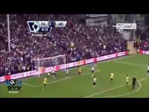 Fulham vs Arsenal 1-3 All Goals & Highlights (24-08-2013) English Premier League