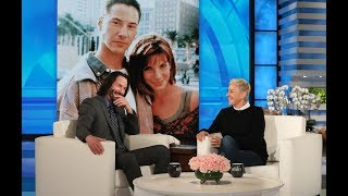 Video Keanu Reeves Had a Crush on 'Speed' Co-Star Sandra Bullock MP3, 3GP, MP4, WEBM, AVI, FLV Juni 2019