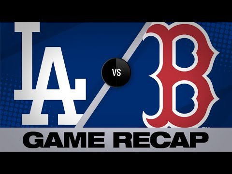 Video: Dodgers rally in 12th to defeat the Red Sox   Dodgers-Red Sox Game Highlights 7/14/19