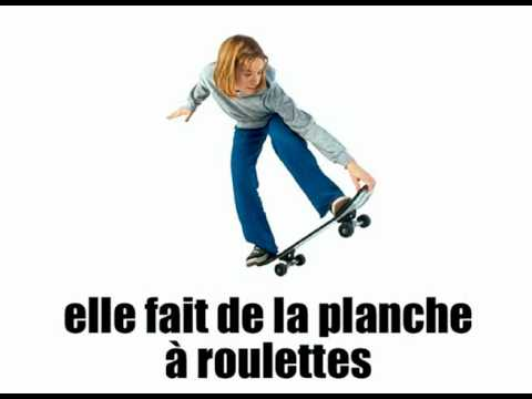 [Basic French lesson] [Vocabulary] Que fait-elle vol2