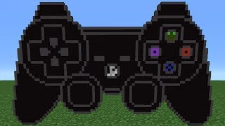 Minecraft Tutorial: How To Make A PlayStation Controller