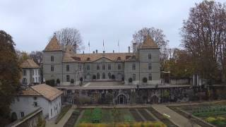 Flying Over Prangins Castel With My New Drone Dji 2