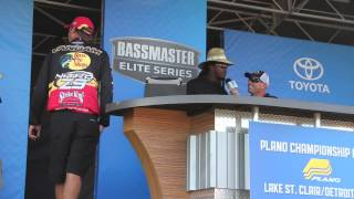 Lake St. Clair day 2 weigh in
