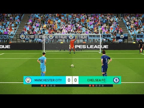 MANCHESTER CITY vs CHELSEA FC | Penalty Shootout | PES 2018 Gameplay PC