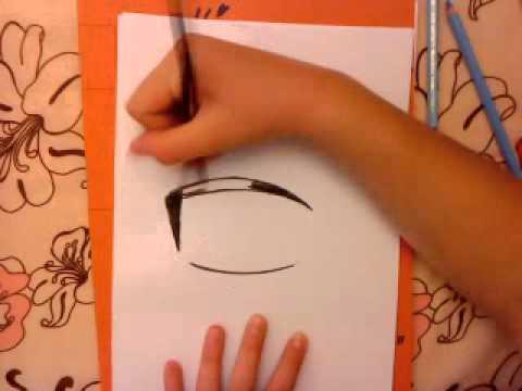 Manga Auge zeichnen – Tutorial