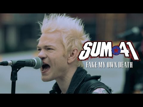 Fake My Own Death (Official Music Video) - SUM 41