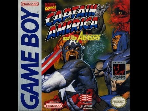 Captain America and the Avengers Game Boy