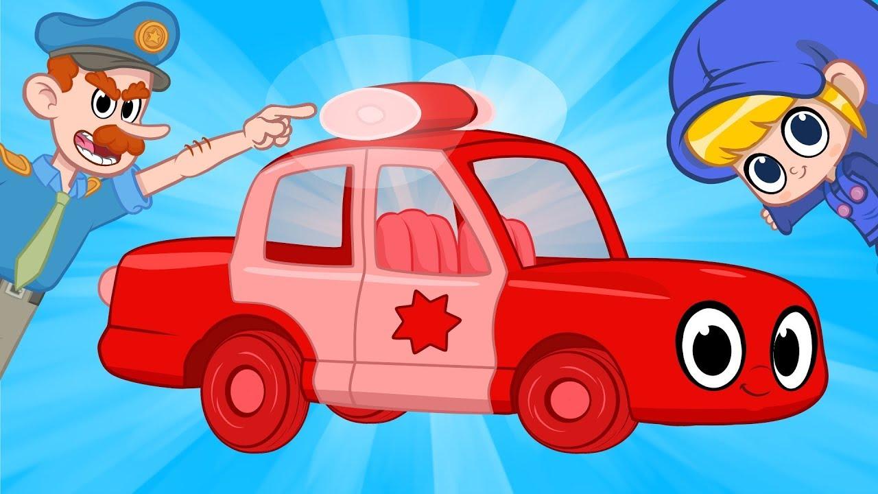 سياره الشرطه الحمراء اmy Red Police Car My Magic Pet Morphle