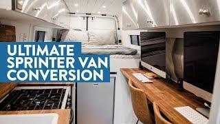 Video Self-converted Off-Grid Sprinter Van with Full Office, Bathroom, and Garage MP3, 3GP, MP4, WEBM, AVI, FLV Juli 2019
