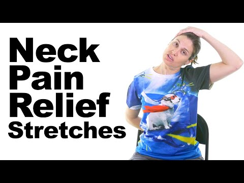 Neck Pain Relief Stretches - 5 Minute Real Time Routine