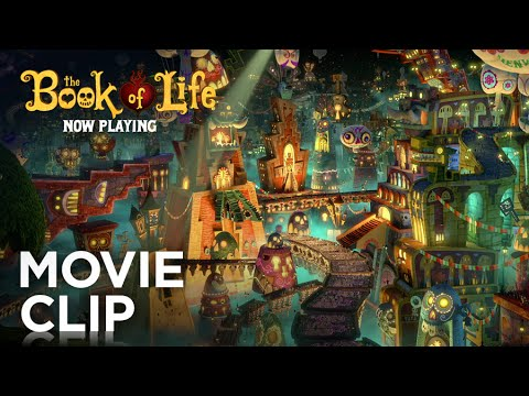 The Book of Life Clip 'Land of the Remembered'