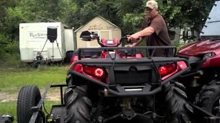 11. Polaris Sportsman 550 EPS Big Gun Exhaust