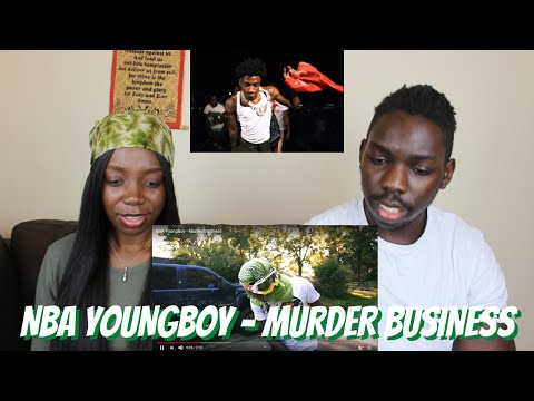 NBA YoungBoy - Murder Business - REACTION