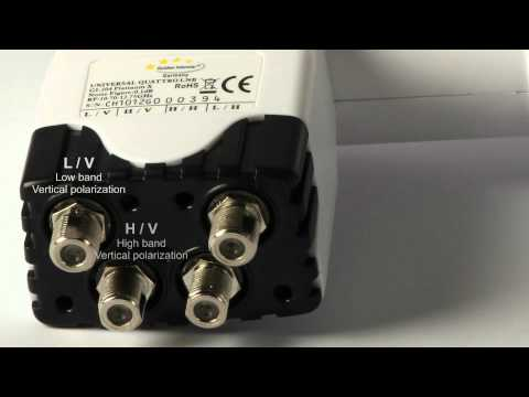 comment installer un switch lnb