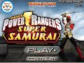Guia MiniJuego Power Rangers Super Samurai comentado en espaol