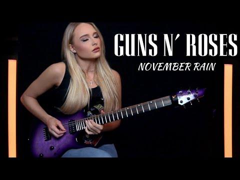 "Guns N' Roses  ""November Rain"" Cover by Sophie Lloyd"